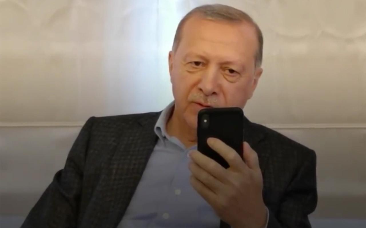 Cumhurbaşkanı Erdoğan İsveç'ten Türkiye'ye getirilen Emrullah Gülüşken'in kızı ile görüştü