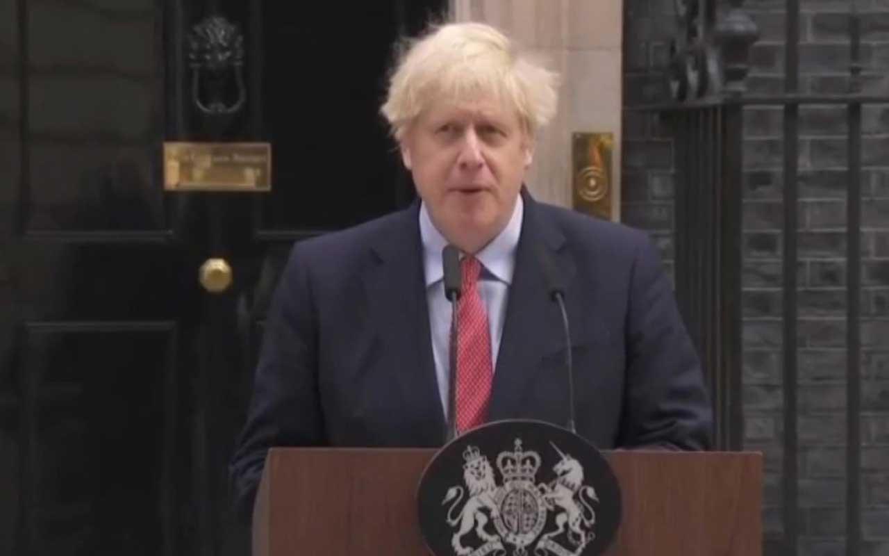 İngiltere Başbakanı  Boris Johnson 22 gün sonra sonra ilk açıklama