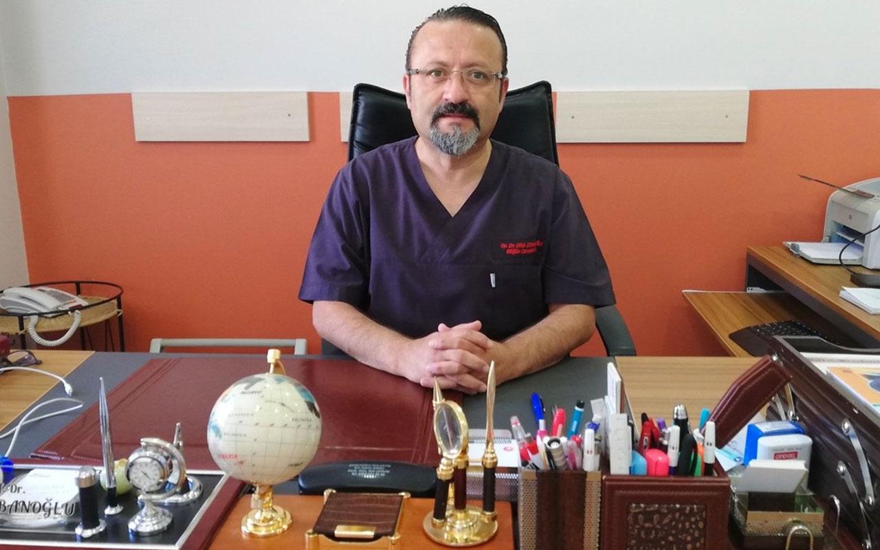 Van'da koronavirüsü yenen profesör doktor taburcu oldu