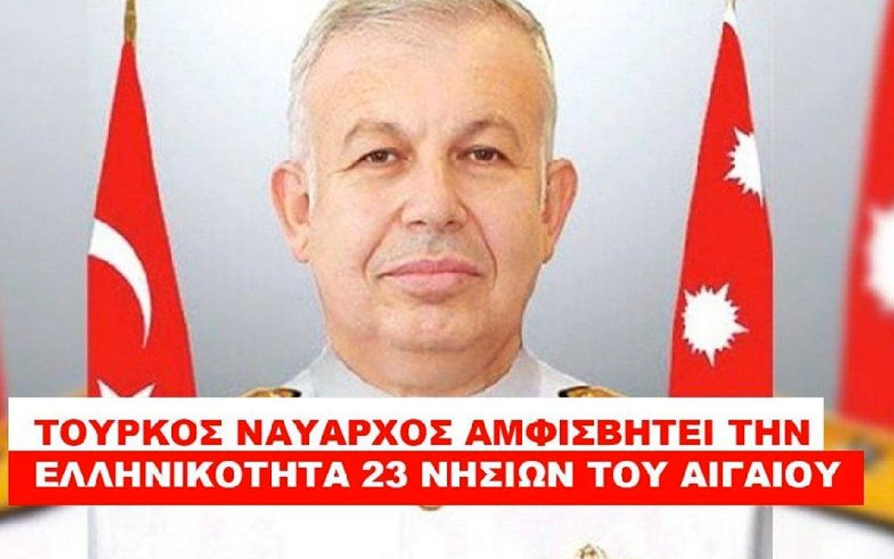 Yunan medyasından Türk amiral Cihat Yaycı'ya ölüm tehditleri
