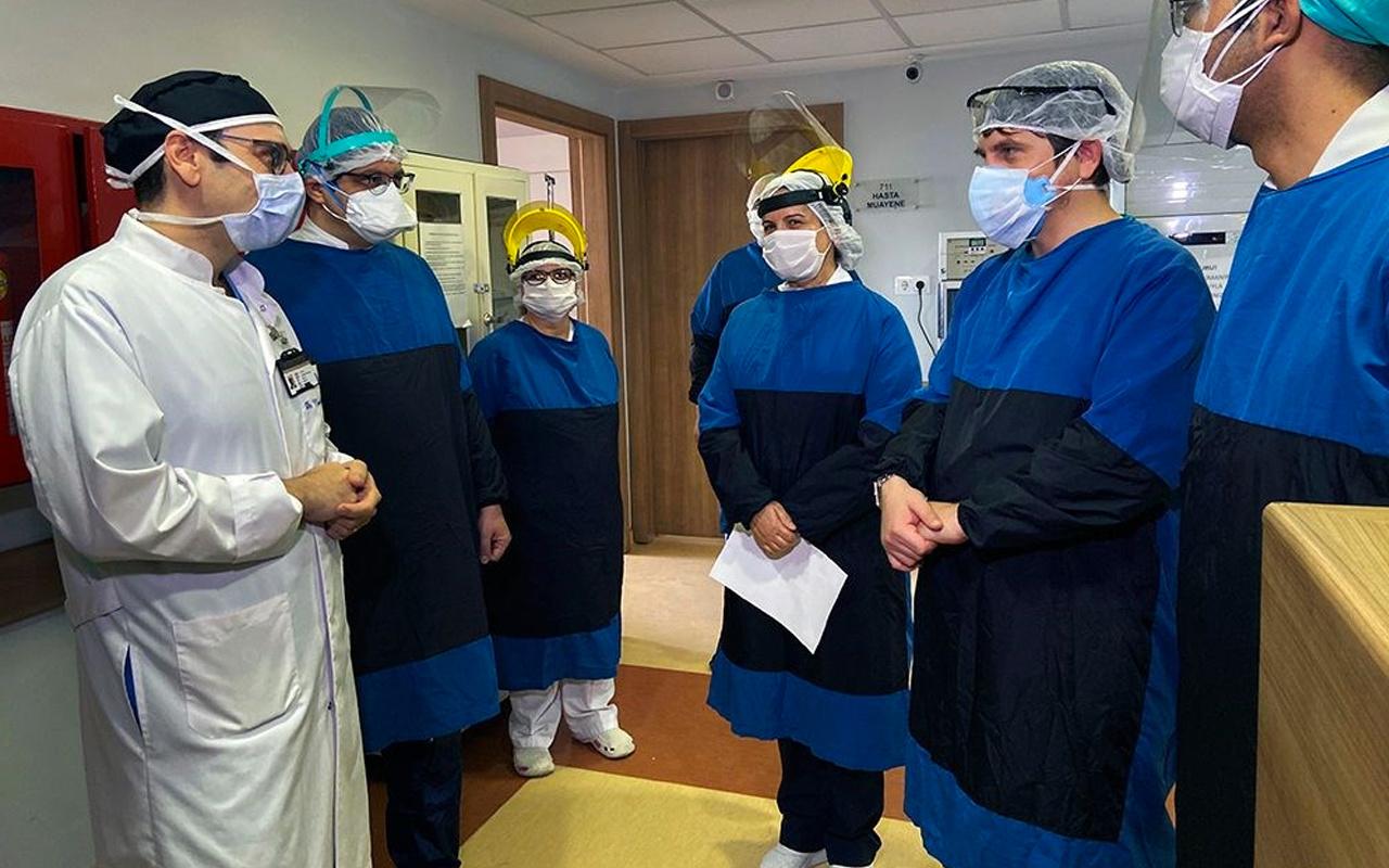 Amerikan haber ajansı AP Cerrahpaşa'nın koronavirüs kahramanlarını fotoğrafladı