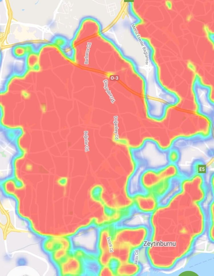 İstanbul ilçeleri coronavirüs haritası! En riskli yerler nereler bakanlık açıkladı
