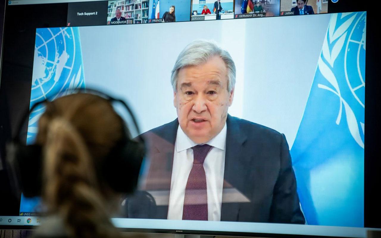 Guterres: Korona ile daha iyi bir dünya mümkün olabilir