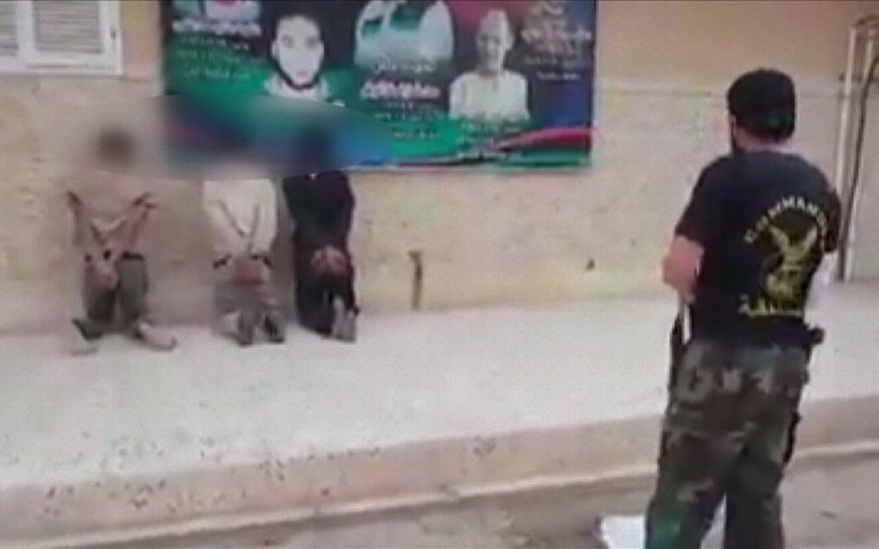 DEAŞ yöntemiyle infaz görüntüleri ortaya çıkan Hafter'in komutanı savaşçı arıyor