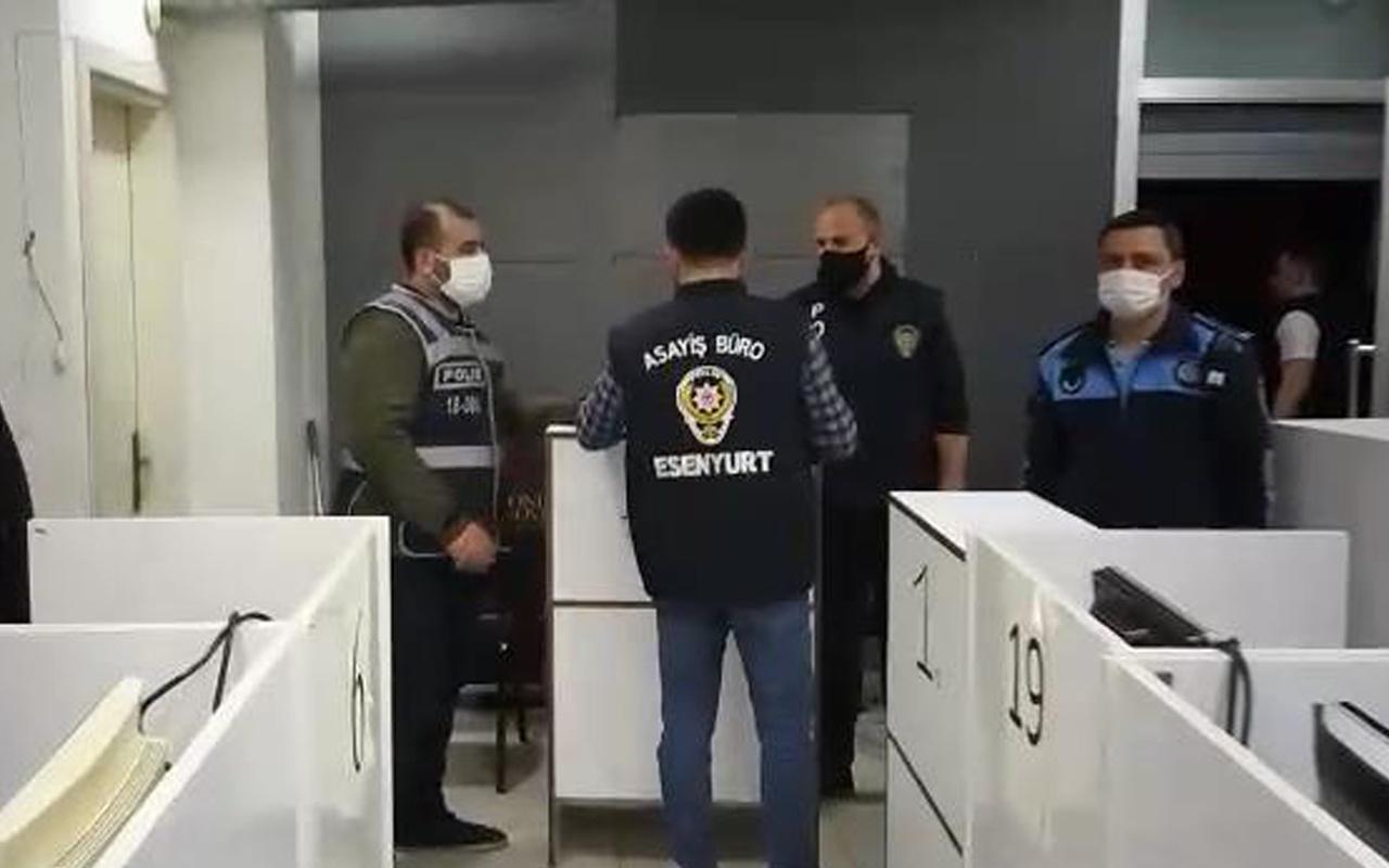 İstanbul'da mühürlü kafede sanal tombala oynayanlara ceza