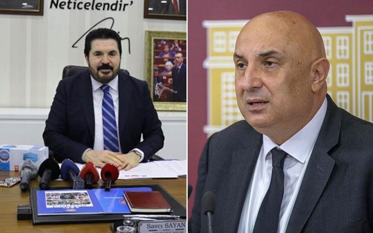 CHP'li Engin Özkoç ile Savcı Sayan'ın maske polemiğinde çok ağır sözler