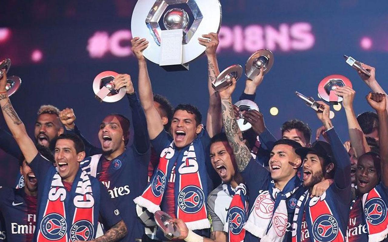 Fransa'da şampiyon PSG ilan edildi
