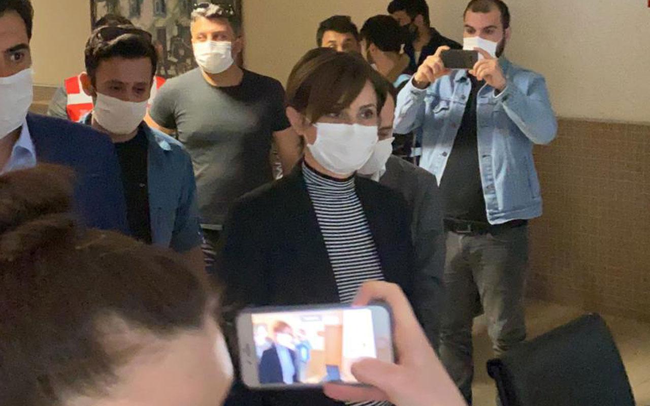 CHP İstanbul İl Başkanı Canan Kaftancıoğlu savcılığa ifade verdi
