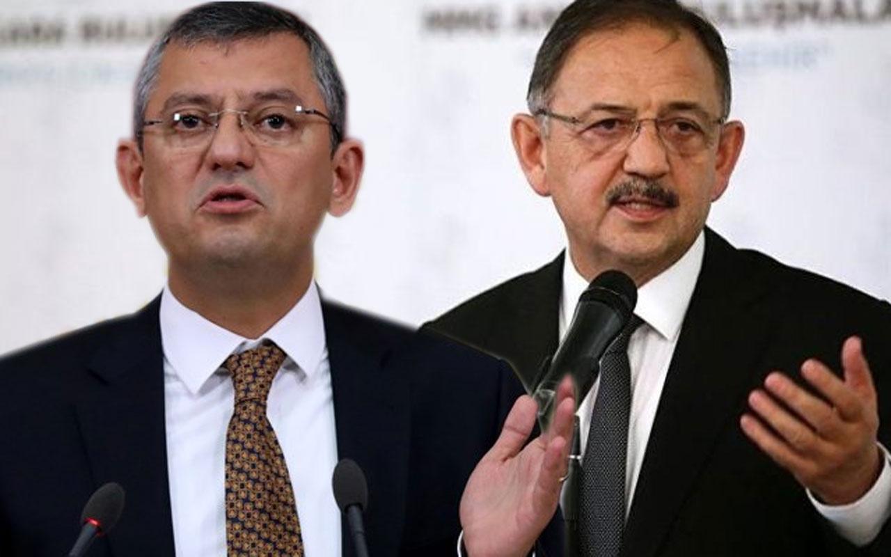 AK Parti'li Özhaseki'den Özgür Özel'e: Şapkasını alıp gidecek bir Cumhurbaşkanı yok
