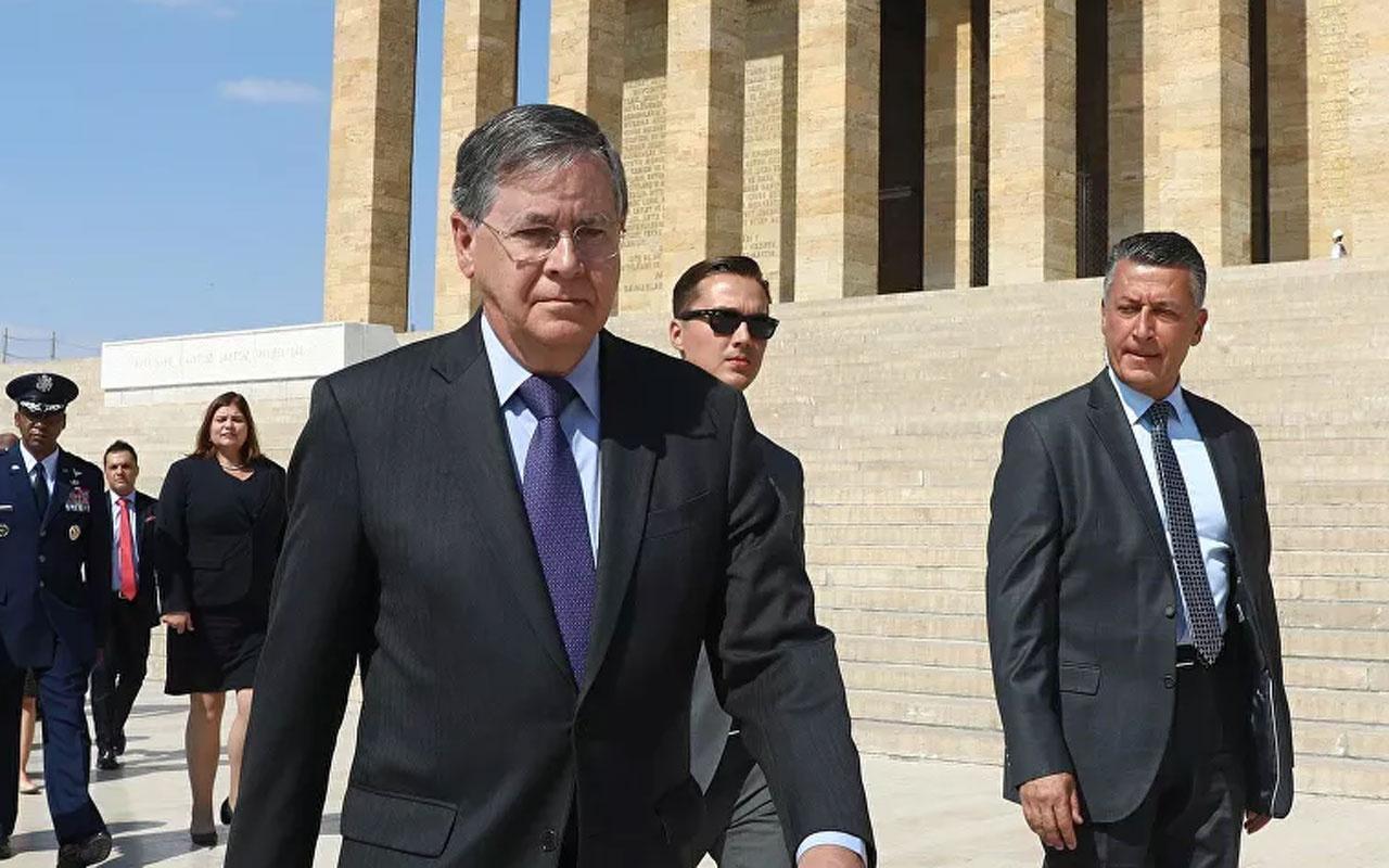 ABD Büyükelçisi: S-400 krizinin çözümü, Türkiye'nin vazgeçmesi