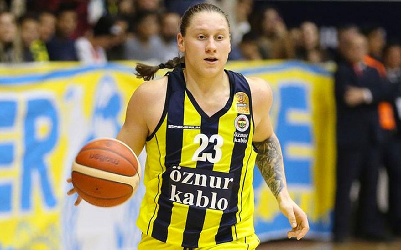 Euroleague'in MVP'si Fenerbahçeli Alina