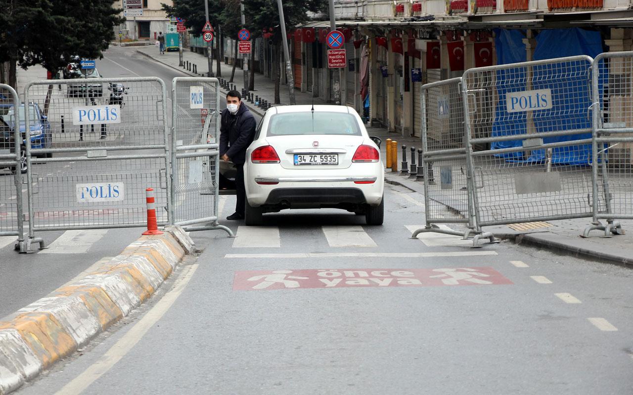Taksim Meydanı'na çıkan yollar kapatıldı