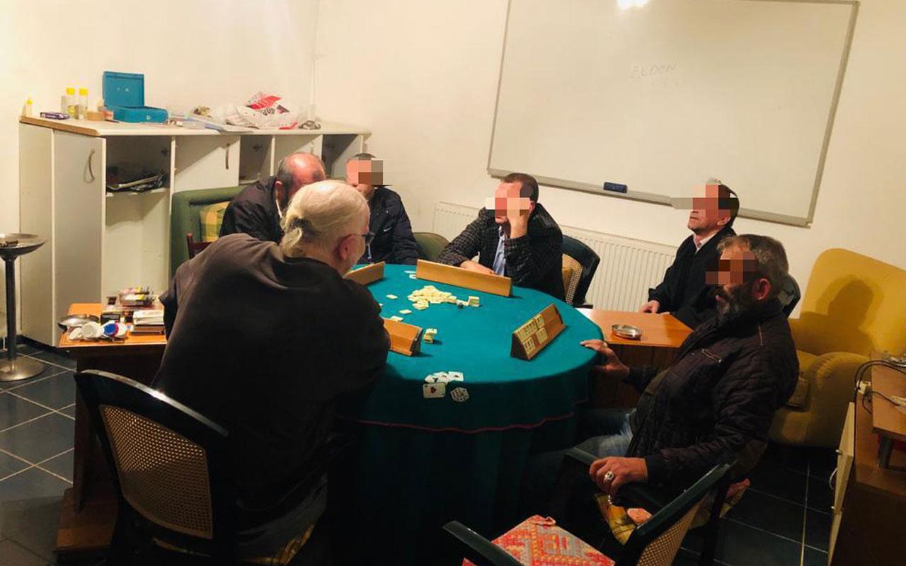 Yalova'da kumar oynayan 6 kişiye koronavirüs tedbirlerini ihlalden ceza