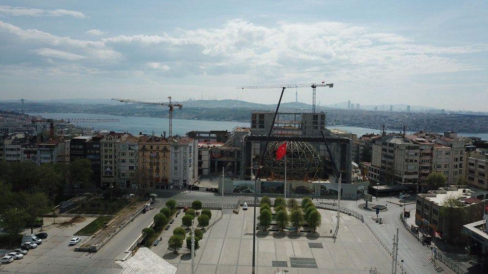 Taksim'deki Atatürk Kültür Merkezi binası yükseliyor! Opera salonu kendini gösterdi