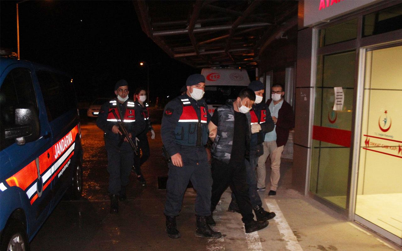 Konya'da 2'si cezaevi firarisi 3 kişi aynı evde yakalandı