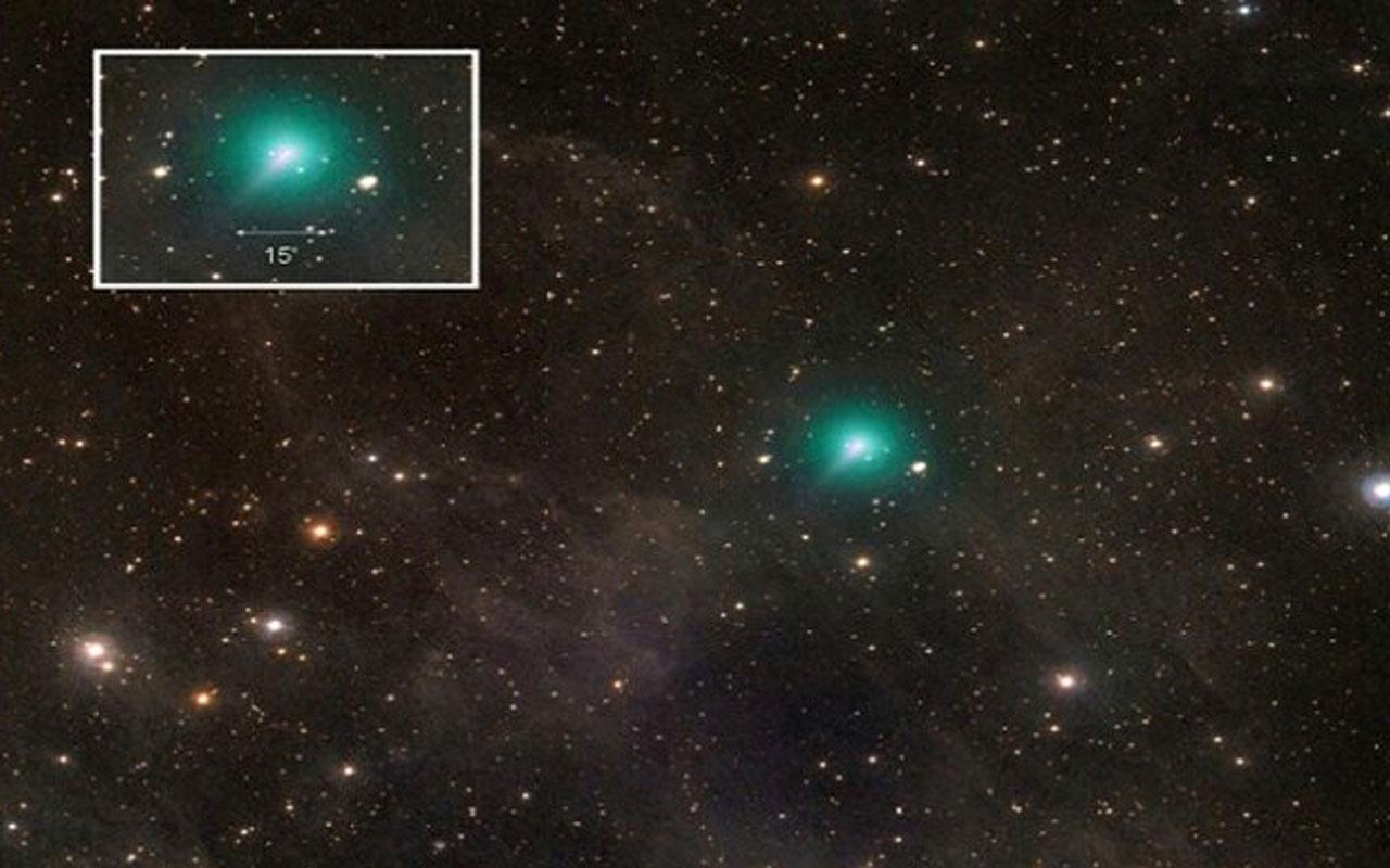 Atlas Kuyruklu Yıldızı görüntülendi