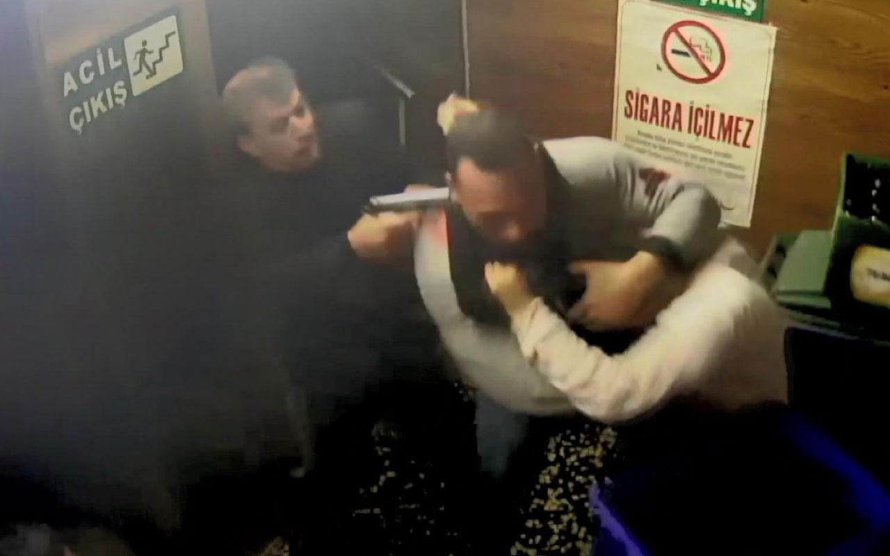 Cinayet anı kamerada! Bursa'da 1 kişi öldü 2 kişi de işte böyle yaralandı