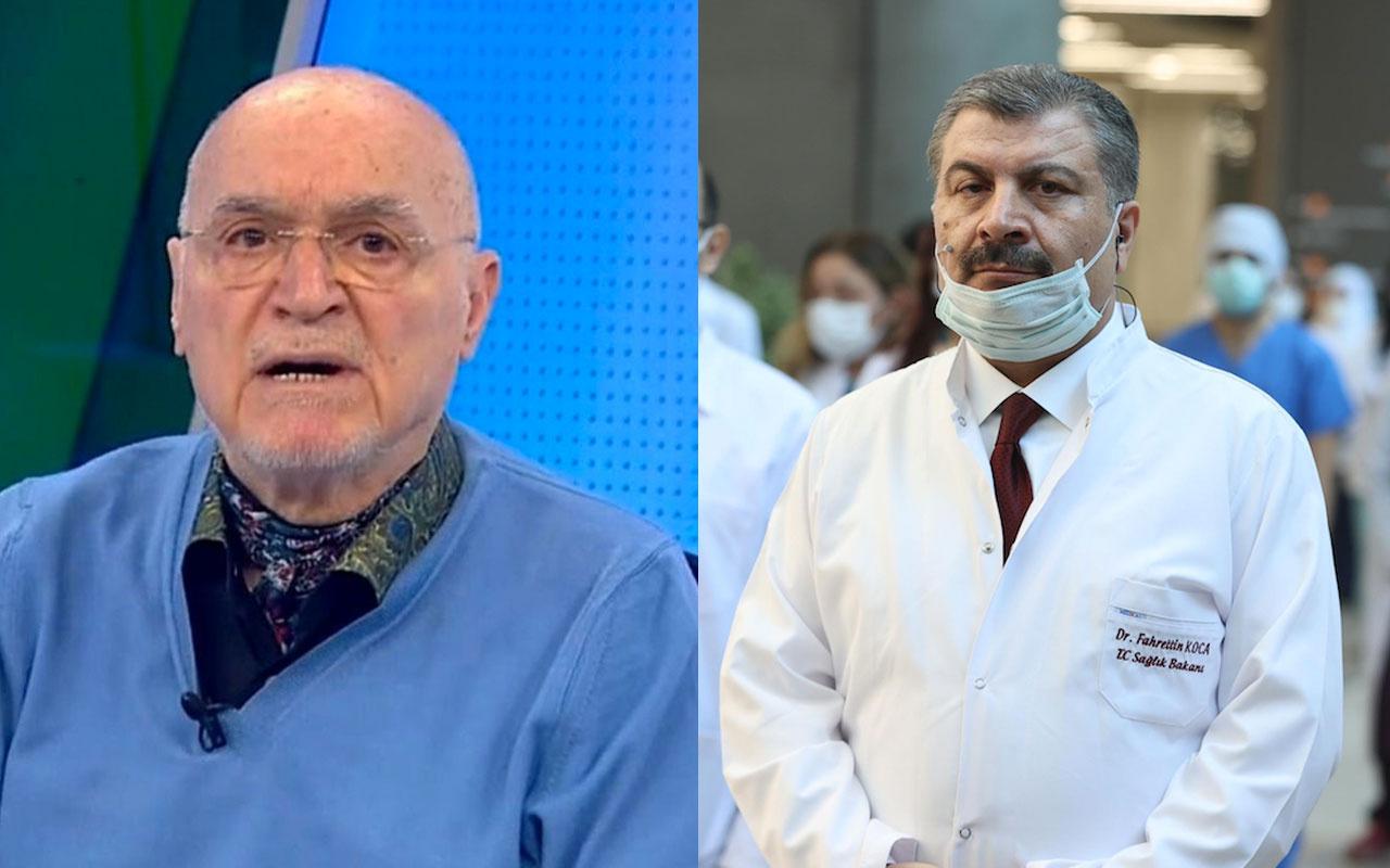 Hıncal Uluç Sağlık Bakanı Koca'ya açık mektup yazıp Bilim Kurulu üyelerini eleştirdi