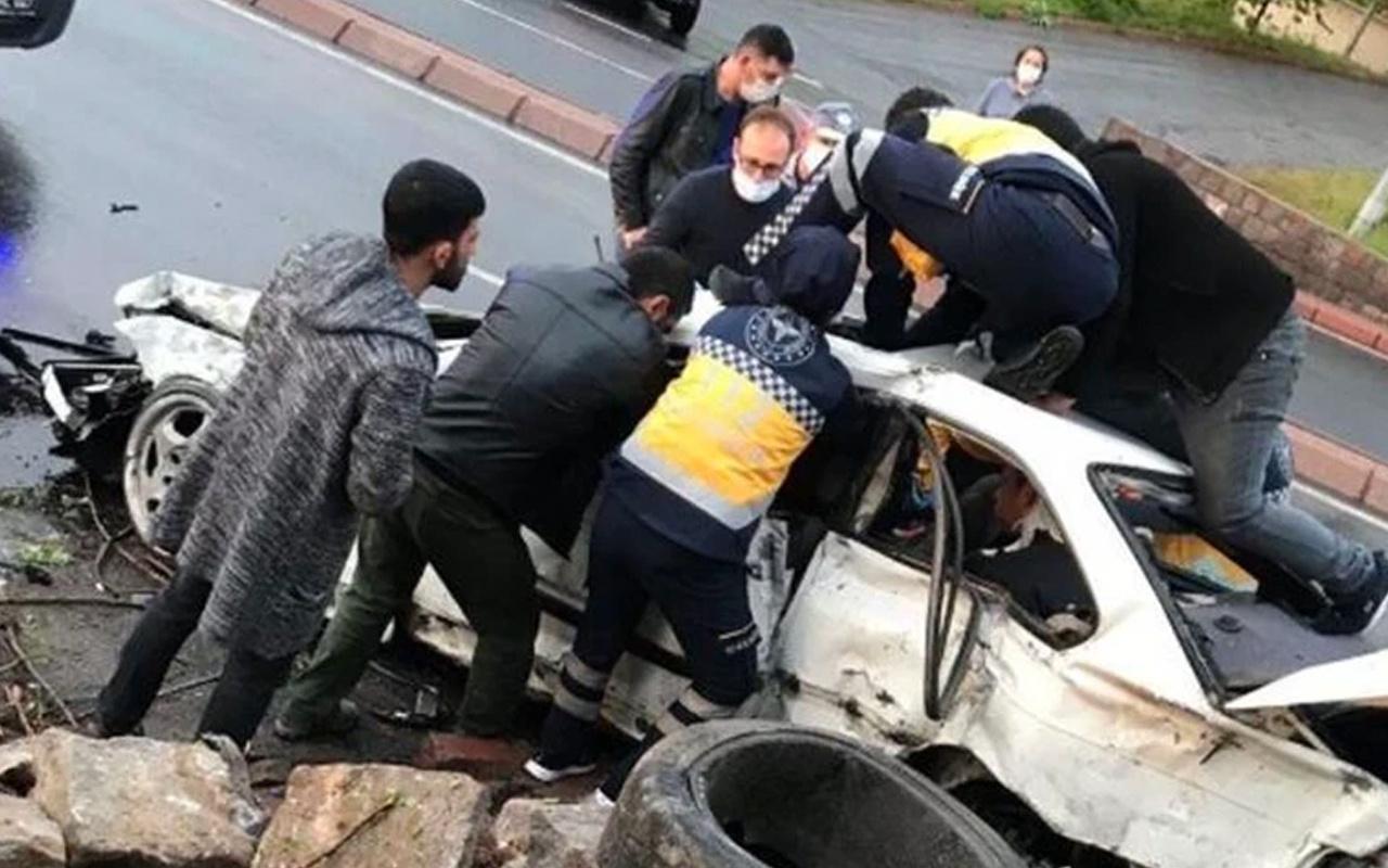 Kayseri'de  feci kaza! Ölü ve yaralılar var