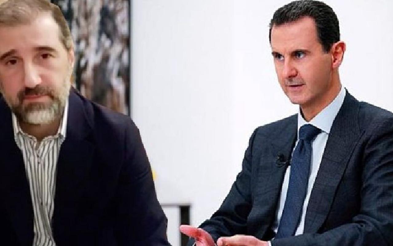 Suriye ekonomisinin yüzde 60'ını elinde bulunduran kuzen, Esed'e meydan okudu