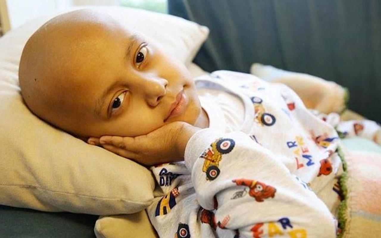 8 yaşındaki kanser hastası Ahmet Ataç yaşama veda etti