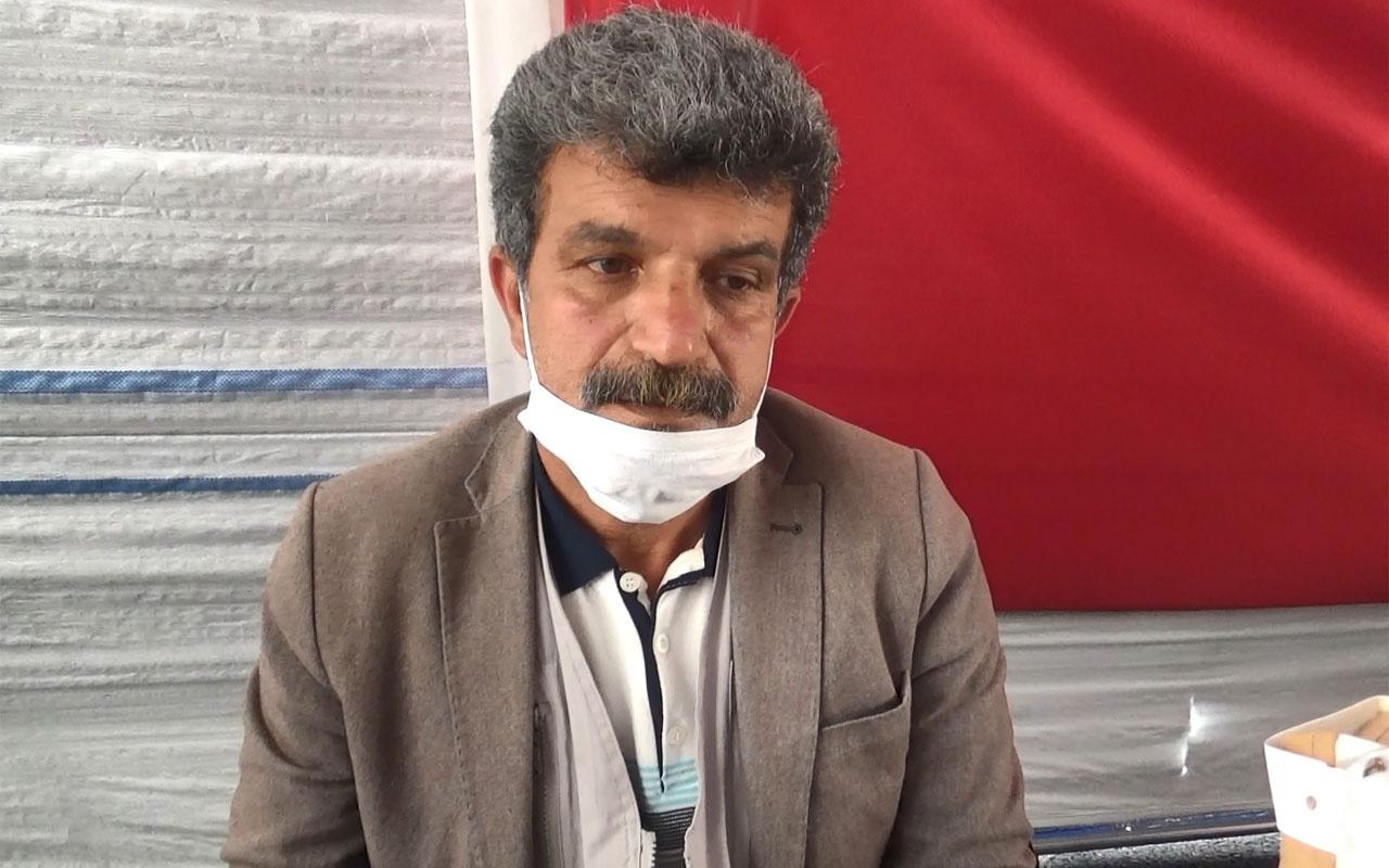 Diyarbakır'da evlat nöbetindeki babanın HDP itirafı olay oldu