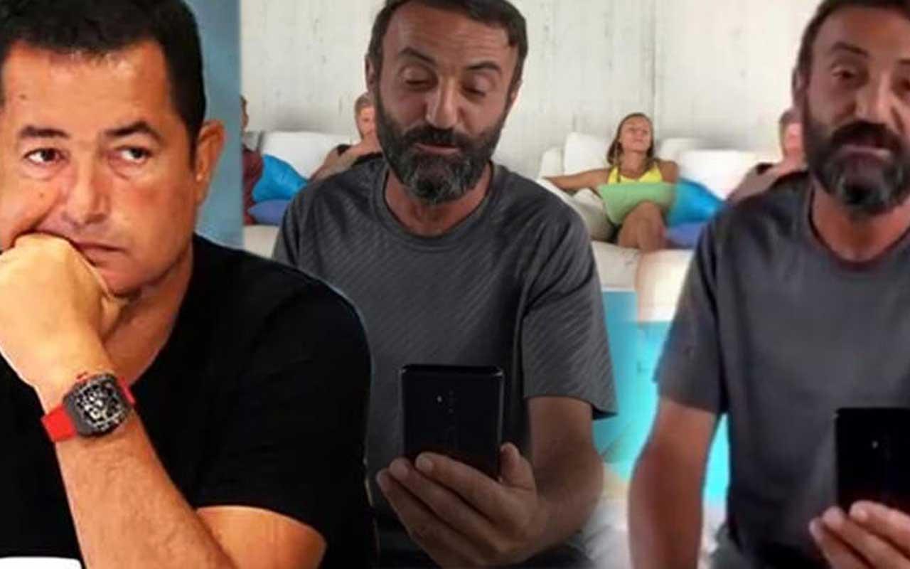 Survivor Ersin Korkut'tan köpeği Mes ile ilgili canlı yayında duygulandıran sözler