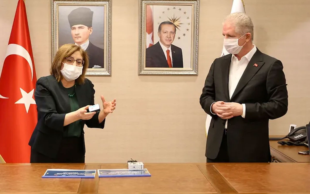 Gaziantep Büyükşehir'den koronavirüs tedbirleri kapsamında Türkiye'de bir ilk!