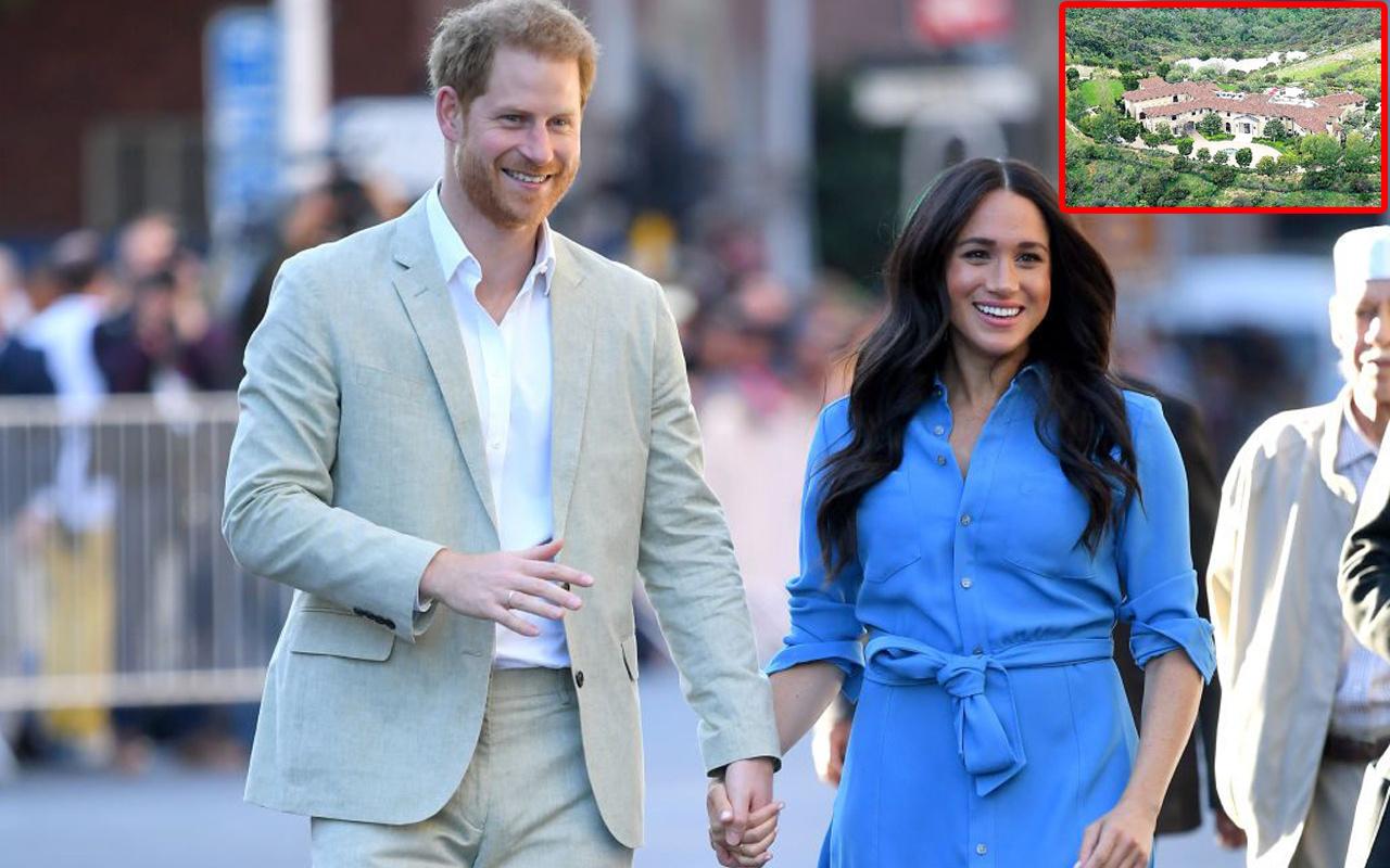 İşte Prens Harry ve Meghan Markle'ın yaşadıkları 18 milyon dolarlık malikane