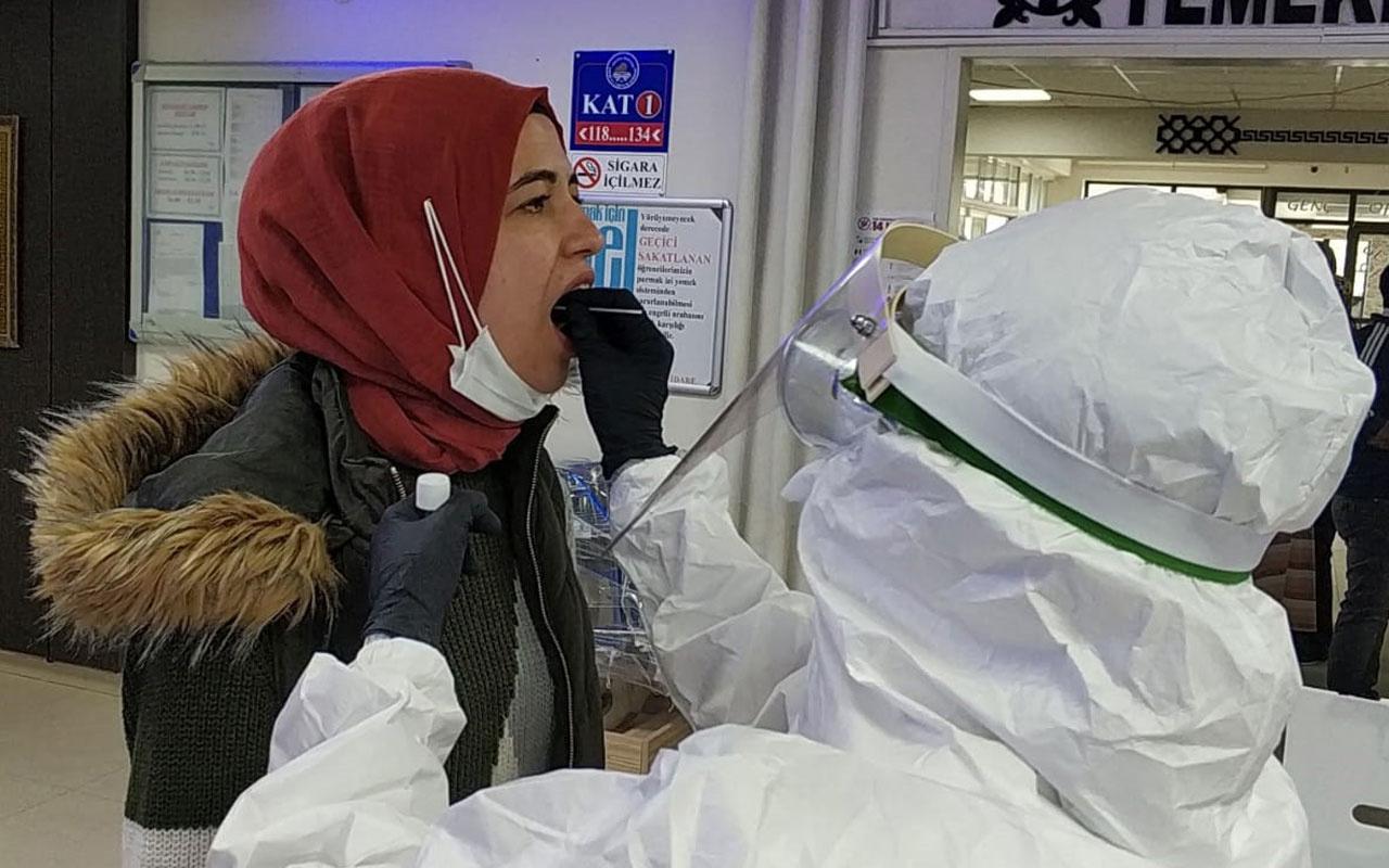 Karantina yurdunda kalan 3 kişide koronavirüs çıktı! Bütün personele test yapıldı