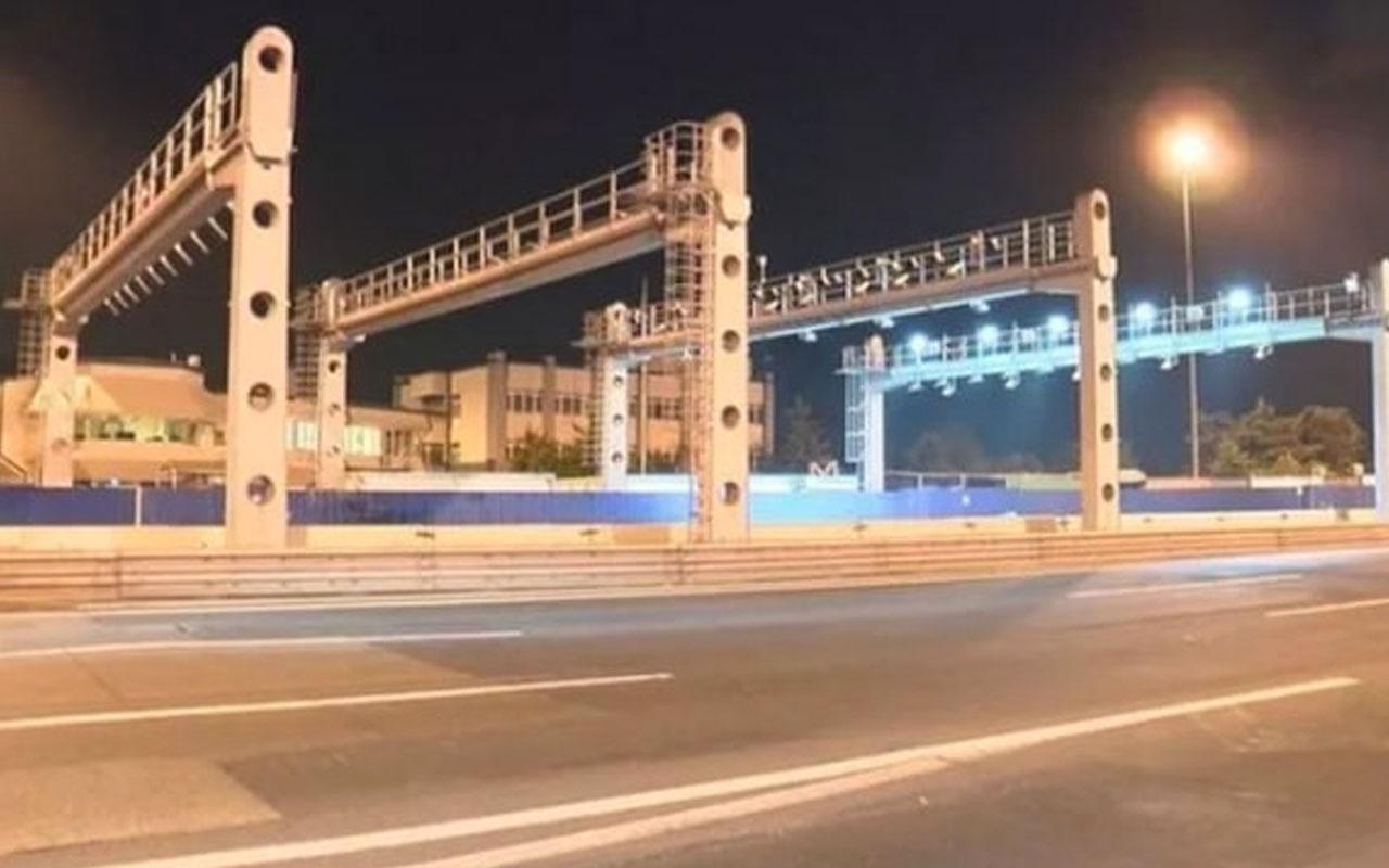 15 Temmuz Şehitler Köprüsü'nde dikkat çeken çalışma: TAK'lar kuruluyor