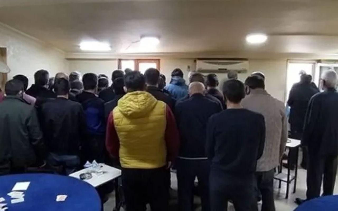 Derneğe kumar baskını! 37 kişiye 113 bin 400 lira para cezası