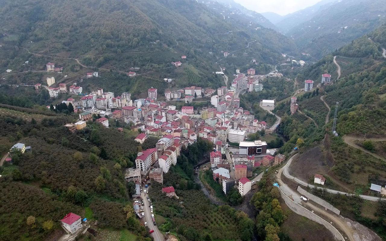 Trabzon'un bu ilçesinde koronavirüse rastlanılmadı
