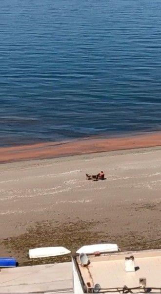 Bursa Kurşunlu'da denizin rengi turuncuya döndü sebebi ise bakın ne