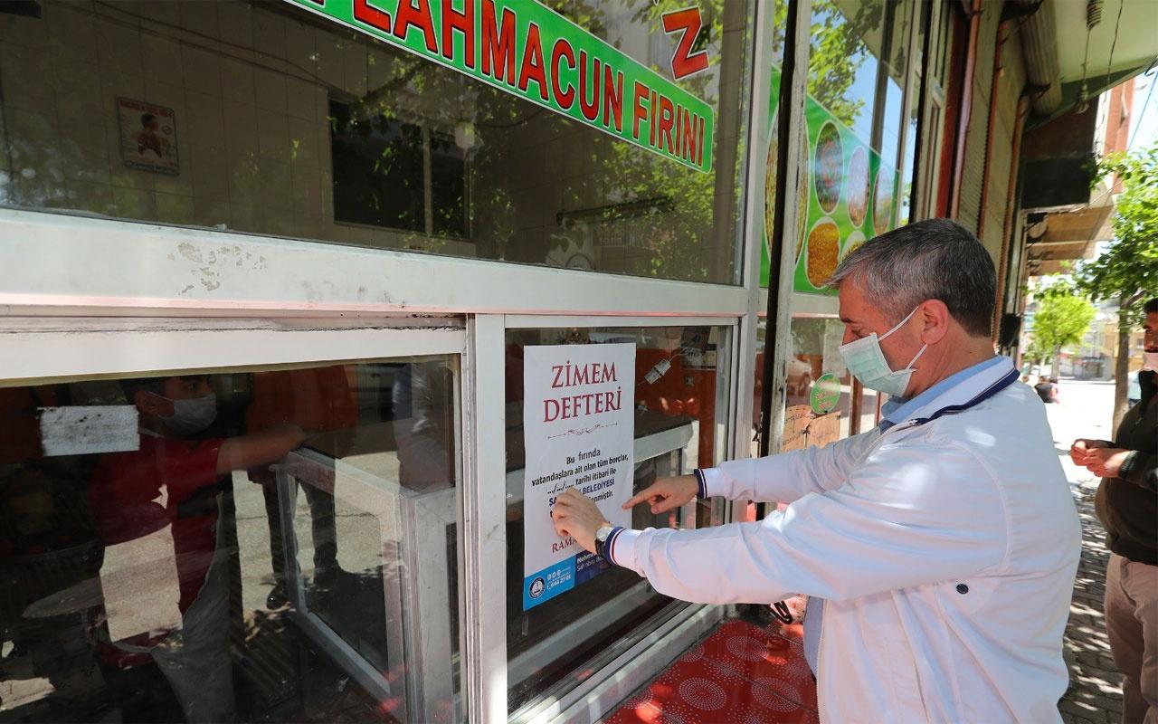 Şahinbey'de vatandaşların 340 fırına borcu kapatıldı