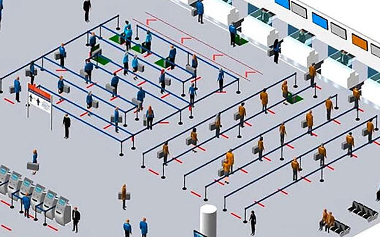 DHMİ Müdürü Keskin havalimanlarındaki yeni düzenleme ile ilgili bilgi verdi