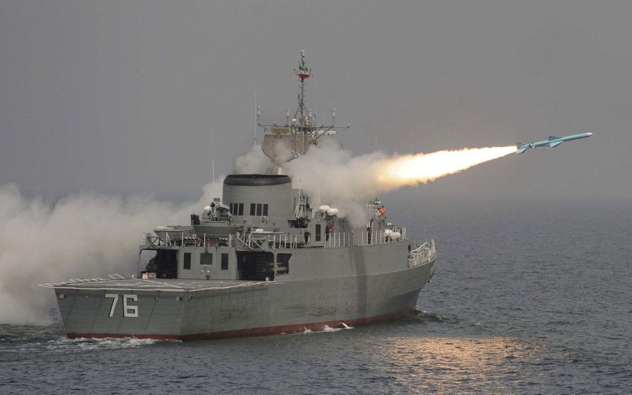 İran Ordusu bu sefer yanlışlıkla kendi savaş gemisini vurdu! 40'dan fazla ölü var