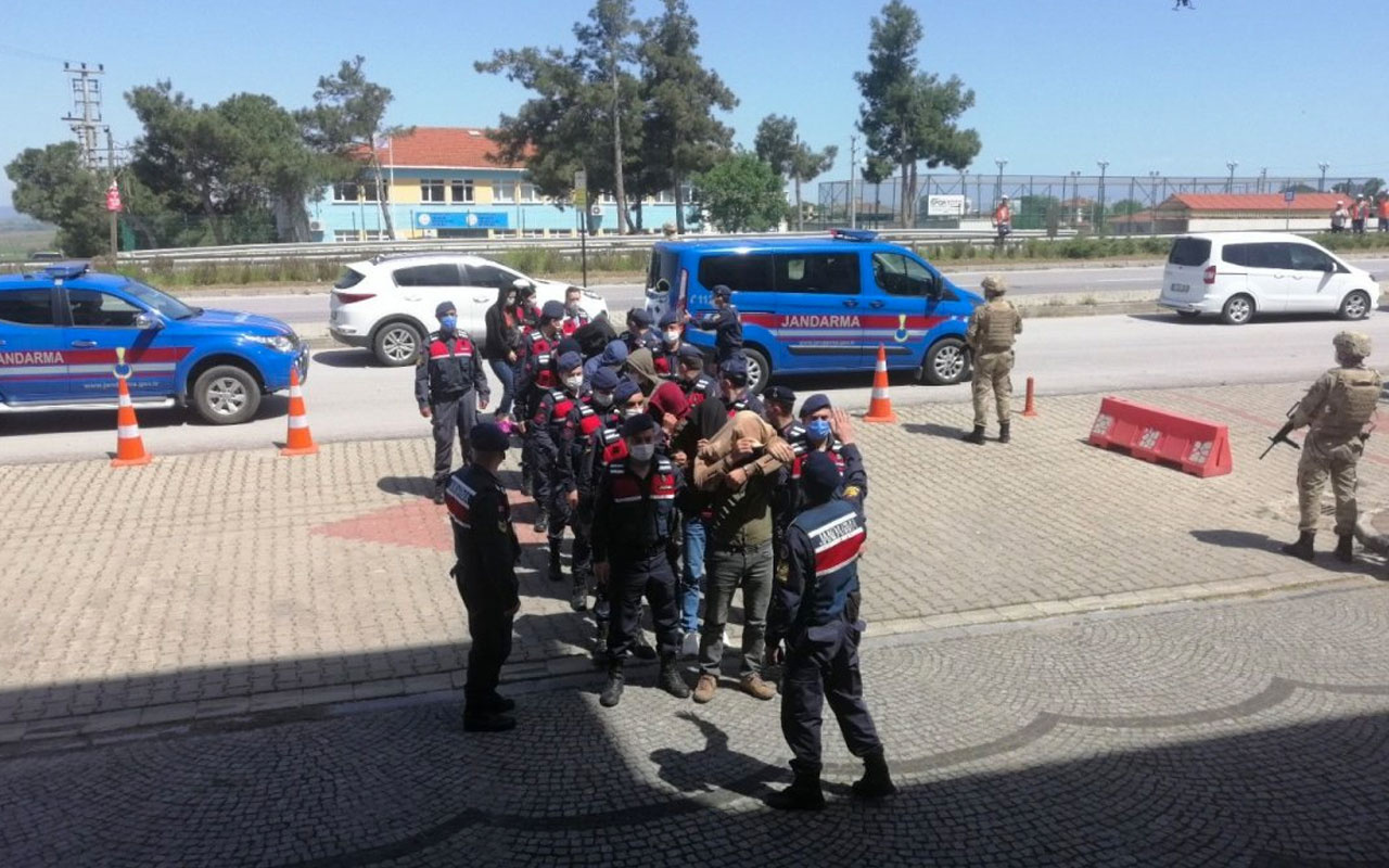 Çanakkale'de organize suç örgütü çökertildi 11 kişi tutuklandı