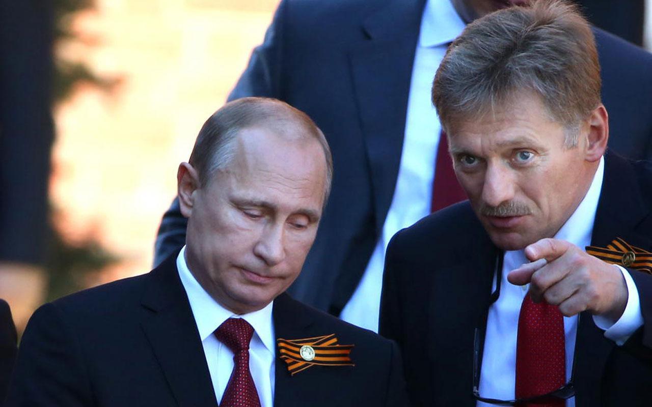 Putin'e büyük şok! Kremlin Sözcüsü Peskov'un koronavirüs testi pozitif çıktı
