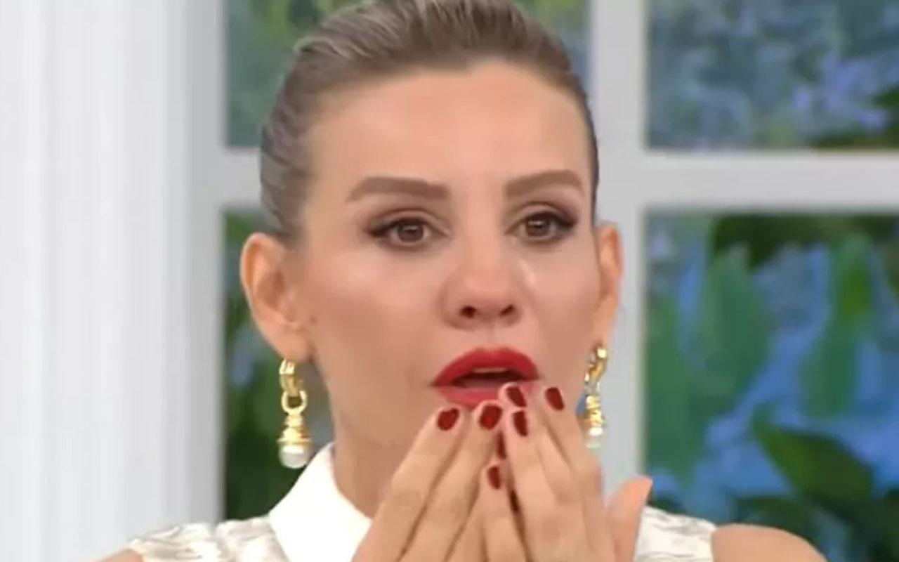 Esra Erol'a canlı yayında büyük sürpriz! Gözyaşlarına boğuldu
