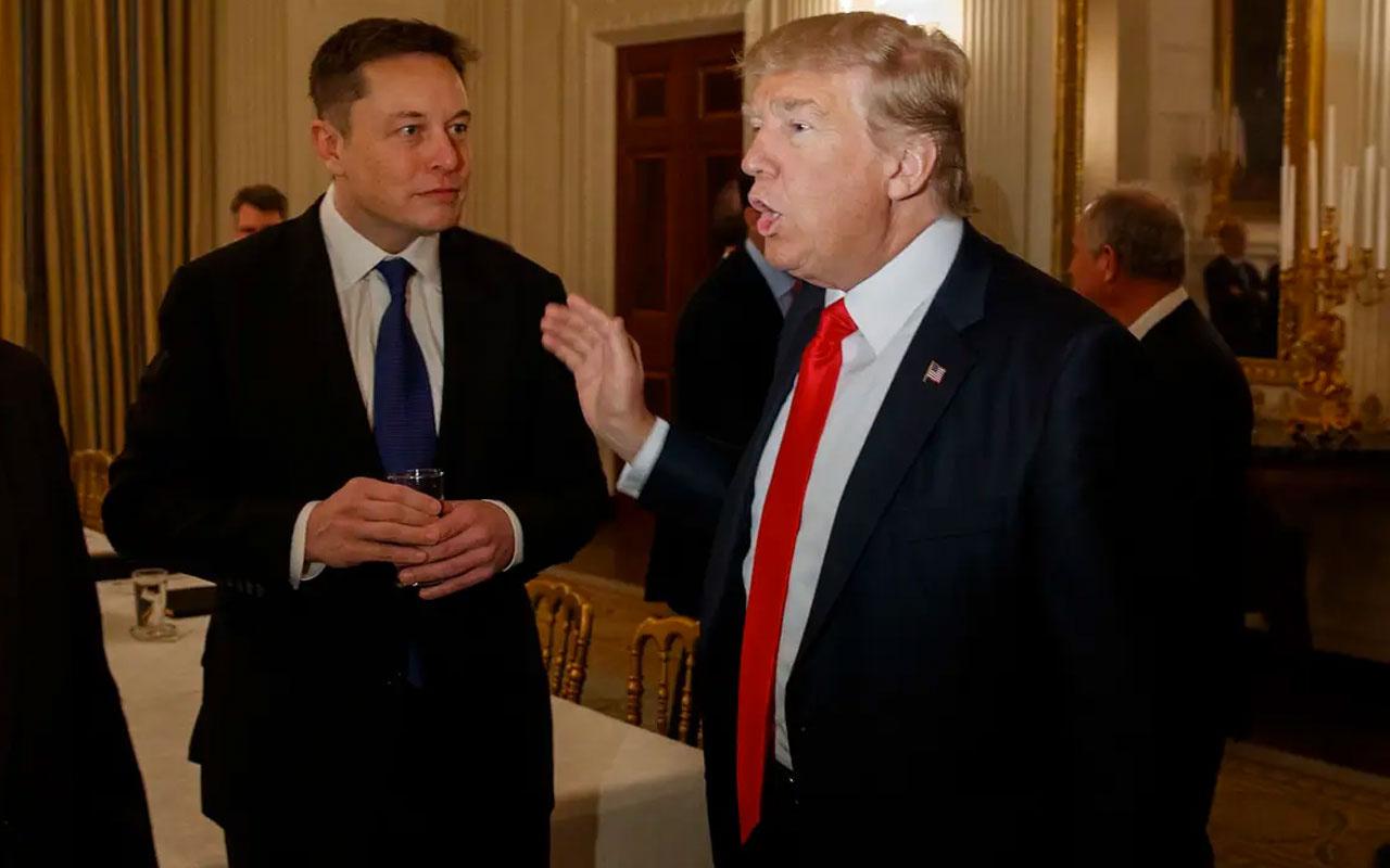Donald Trump, Twitter'dan Elon Musk'a destek verdi