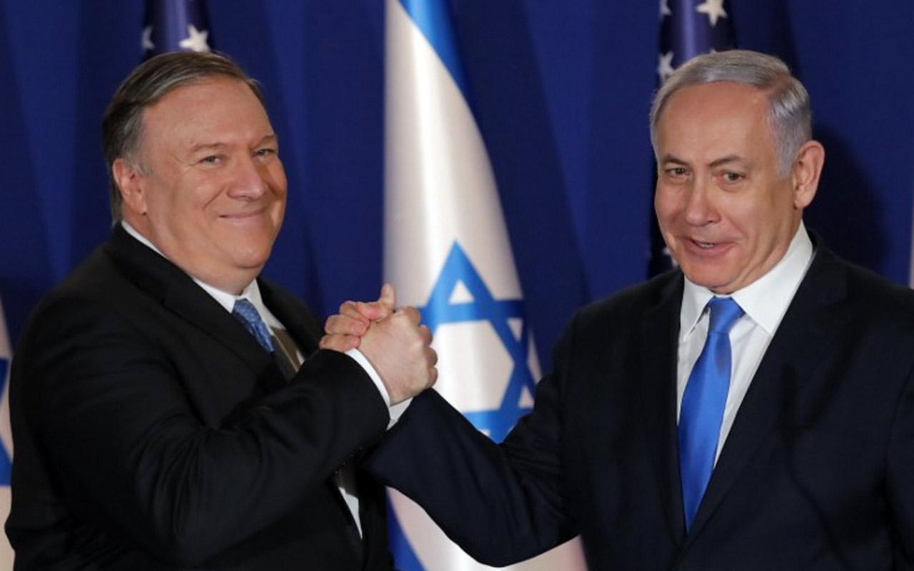 İlhakı görüşmek için İsrail'e gelen Pompeo Çin ve İran'ı hedef aldı