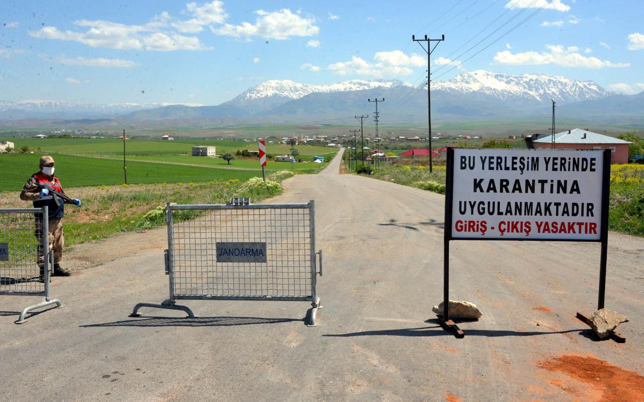 Kahramanmaraş'ta karantinaya alınan mahallede vaka sayısı 30'a çıktı