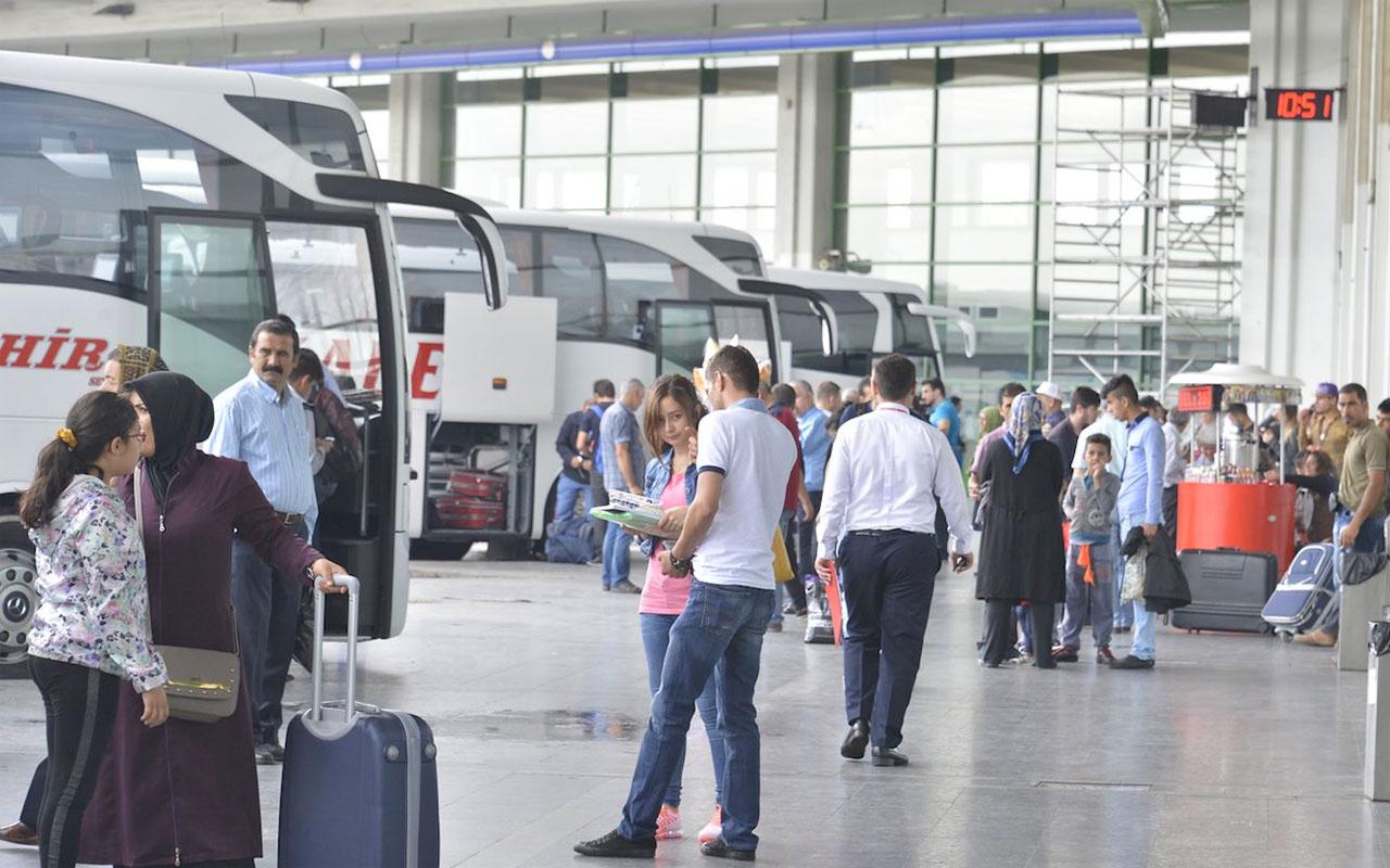 Yolcu otobüsleri için bilet tavan fiyatları belirlendi! İşte yeni bilet fiyatları