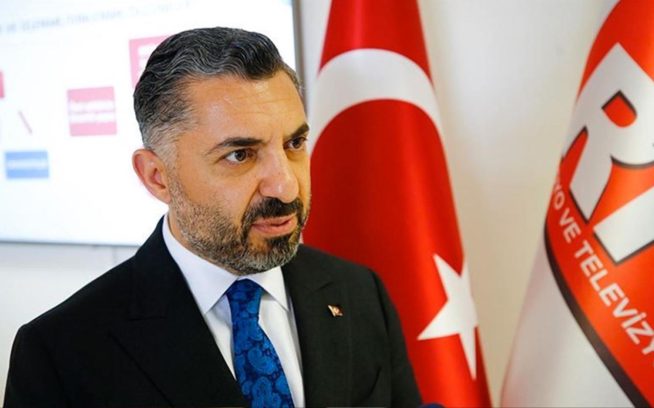 RTÜK Başkanı Ebubekir Şahin'den eleştirilere sert yanıt!