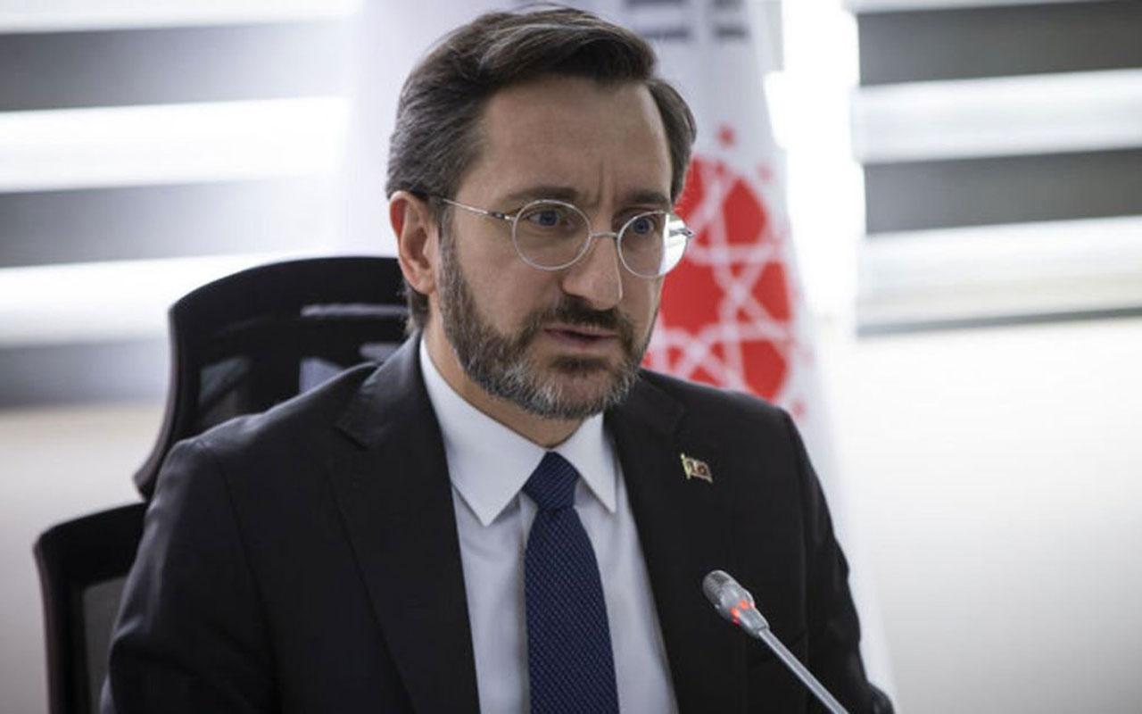 İletişim Başkanı Fahrettin Altun'dan Van'daki terör saldırısına tepki