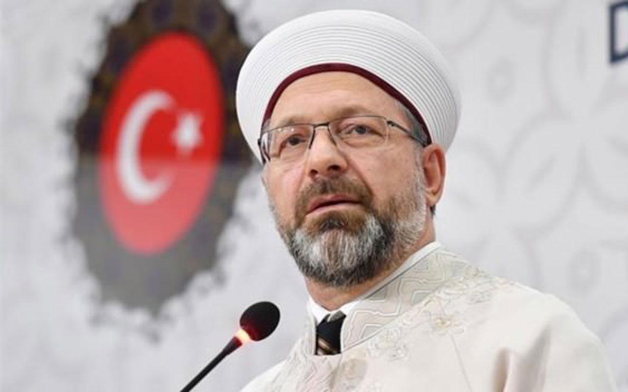 Diyanet İşleri Başkanı Ali Erbaş camilerin ibadete açılacağı tarihi açıkladı