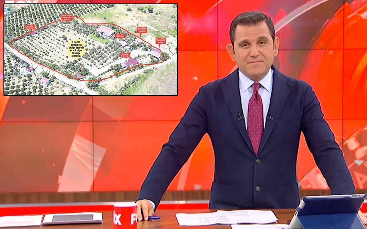Fatih Portakal'ın İzmir'deki çiftlik evinde 3 kaçak yapı diktiği ortaya çıktı