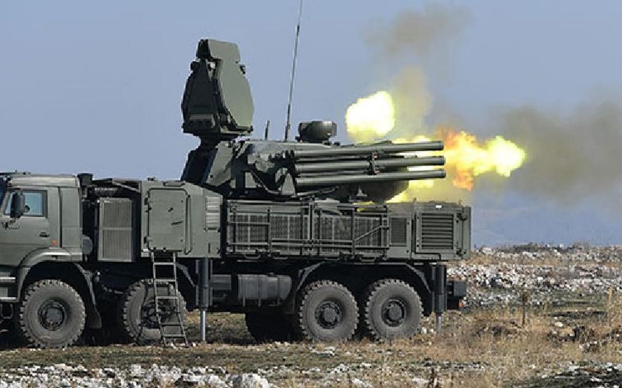 Libya'da meşru güçler Hafter'e ait Rus Pantsir S-1 hava sistemini yok etti