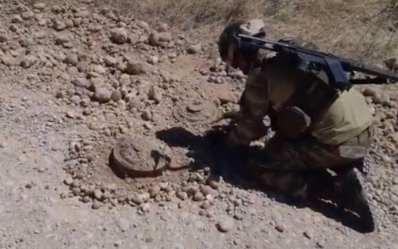 Barış Pınarı bölgesinde 2 antitank mayını bulundu